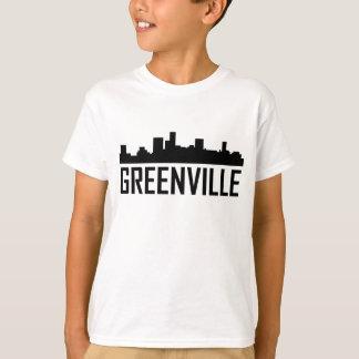 Greenville South Carolina City Skyline T-Shirt