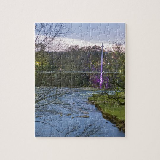greenville south carolina liberty bridge jigsaw puzzle