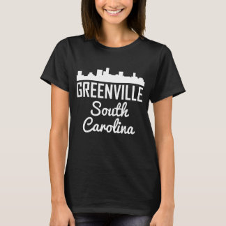 Greenville South Carolina Skyline T-Shirt