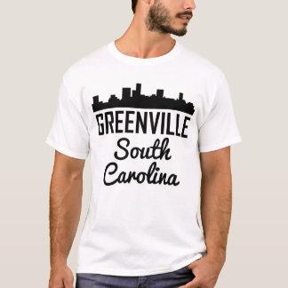 Greenville South Carolina Skyline T-Shirt