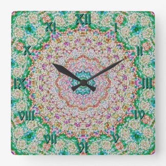 Greenwich Greentime Granola Mandala Clock