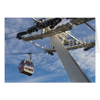Greenwich London Cable Car Card