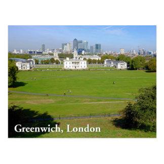 Greenwich London Postcard
