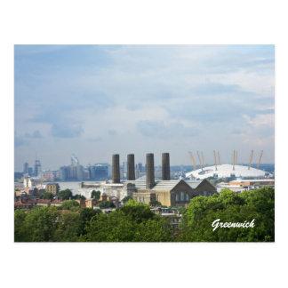 Greenwich View Postcard