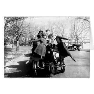 Greenwich Village Glamour Girls Vintage Photo Card