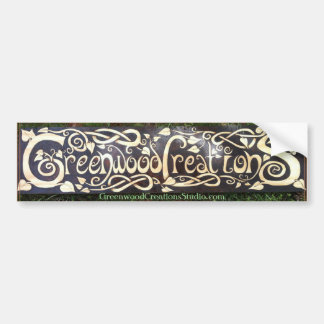 Greenwood Creations Logo - Bumper Sticker