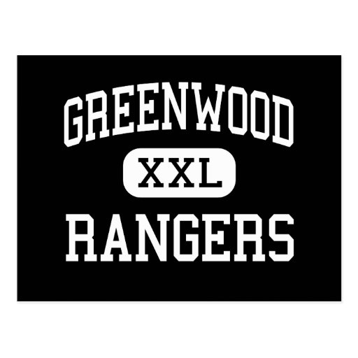 Greenwood - Rangers - Senior - Midland Texas Post Cards