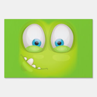 Greeny Muglee - Big Eye Party Yard Sign