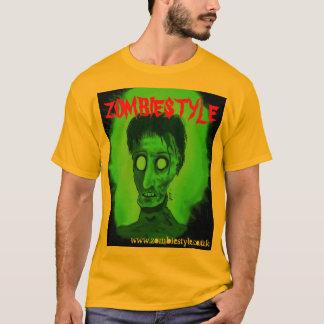 greenzombiehead, ZOMBIESTYLE, www.zombiestyle.c... T-Shirt