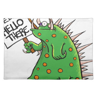 Greep Graphic Well Hello There Place Mats