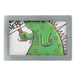 Greep Graphic Well Hello There Rectangular Belt Buckle