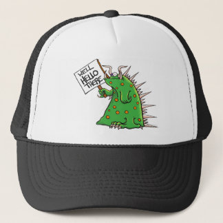 Greep Graphic Well Hello There Trucker Hat
