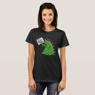 Greep Ladies'T-shirt Dark Background T-Shirt