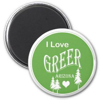 Greer Arizona 2 Inch Round Magnet