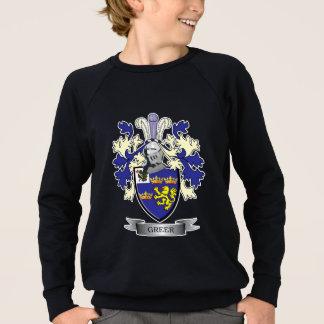 Greer Family Crest Coat of Arms Sweatshirt