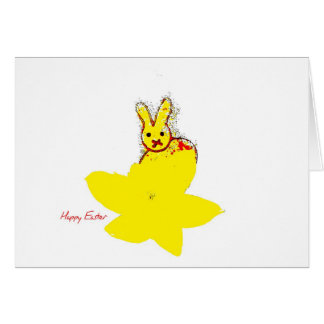Greeting Car Happy Easter Greeting Card