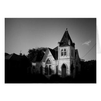 Greeting Card - Abandoned Texas Church