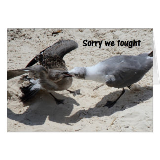 Greeting card - apology