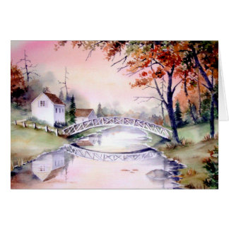 Greeting Card - Arched Bridge