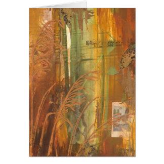 Greeting Card- Autumn Aviary: Sparrow Card