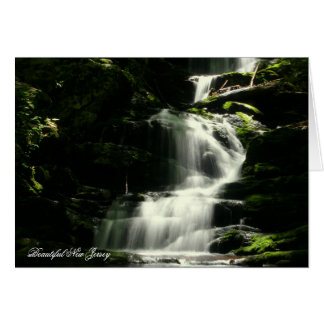 Greeting Card, Blank, Buttermilk Falls, New Jersey Card