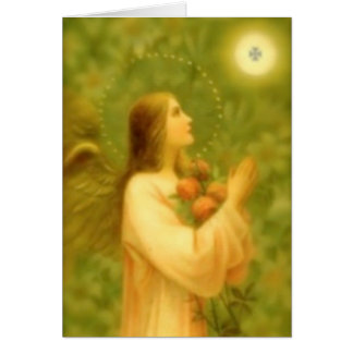 Greeting Card: Bread of Angels Card