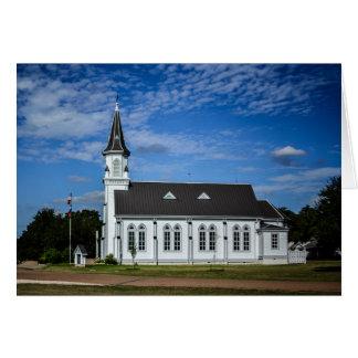 Greeting Card - Country Church