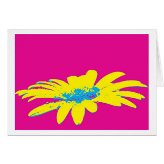 Greeting card daisy flowers Pop kind