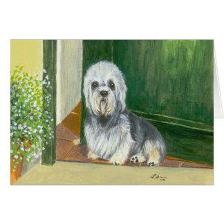 Greeting Card : Dandie Dinmont Terrier