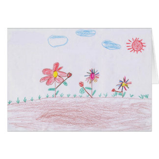 """GREETING CARD: """"Flowers"""" by Duong Chi Phi Greeting Card"""
