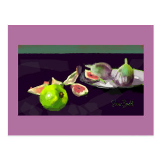 Greeting card gift Still Life with Figs
