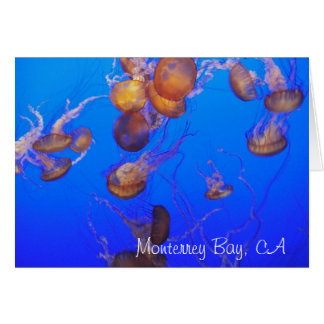 Greeting Card: Gold Jellies Card
