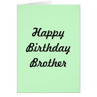 GREETING CARD(HAPPY BIRTHDAY BROTHER) CARD