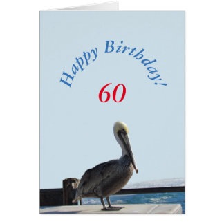 Greeting Card - Happy Birthday Pelican