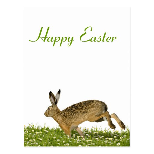 Greeting Card Happy Easter Post Card