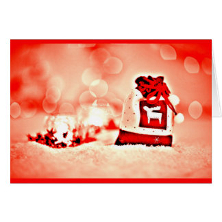 Greeting Card-Holiday Art-Christmas 124 Card