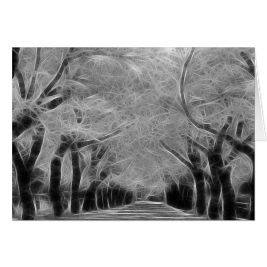 Greeting Card - Live Oak Alley