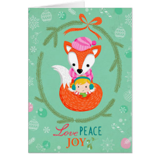 "Greeting Card ""Love, Peace & Joy """