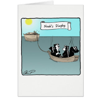 Greeting Card: Noah's Dinghy Card