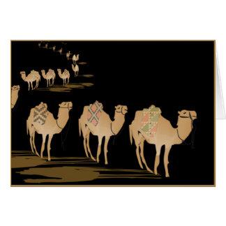 GREETING CARD PERSONALIZED SAHARA NIGHT
