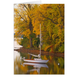 GREETING CARD   SAILBOAT  VERMONT