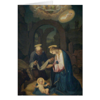 Greeting Card (Scripture):Lk 2:6-7 Birth of Christ