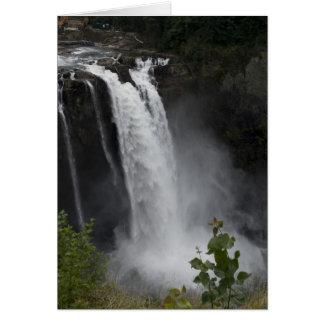 Greeting Card:  Snoqualmie Falls Card