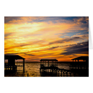 Greeting Card - Sunset