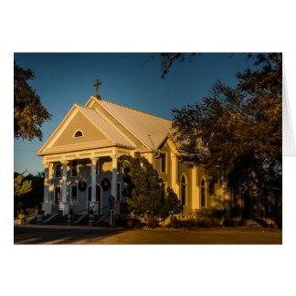 Greeting Card - Texas Country Church