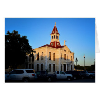 Greeting Card - Texas Courthouse