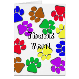 Greeting Card - Thank You, From Pet