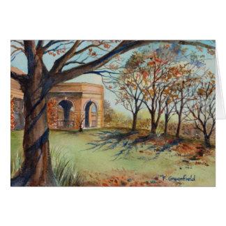 Greeting Card - The Valley Garden Harrogate