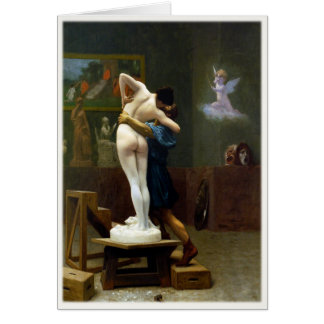 Greeting Card with Jean-Leon Gerome Painting