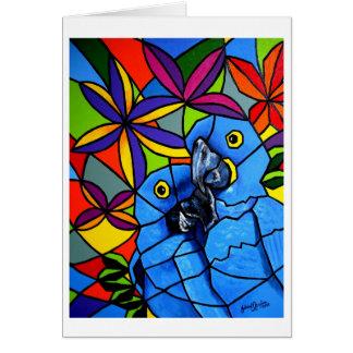 """Greeting Cards """"Macaws"""" - Cartão """"Arara"""""""